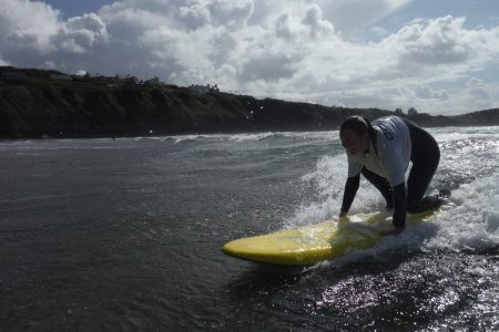 Surfing in Bundoran