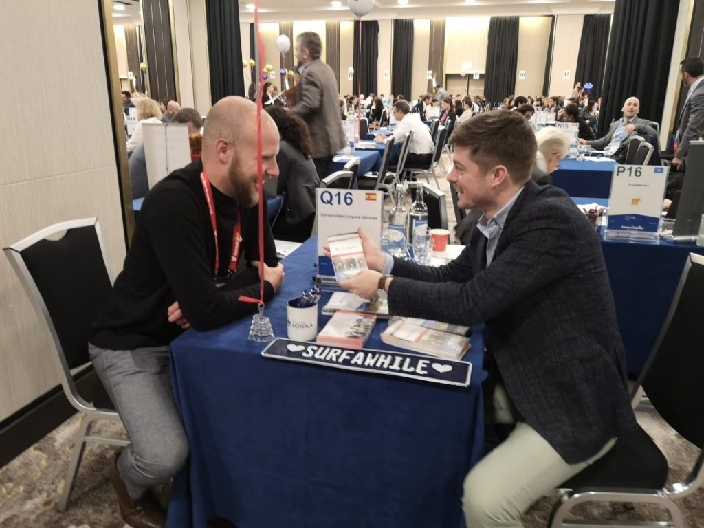 Shane and Olmo at ICEF Berlin 2019