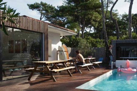 Surf House Pool Surfblend Vieux Boucau Chill