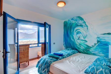 Kingsize bed in Famara Double - Casa del Mar